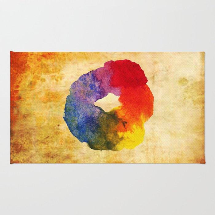 Colors Series 1 : Circle of Life Rug