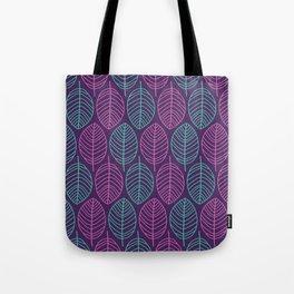 Leaf outlines Tote Bag