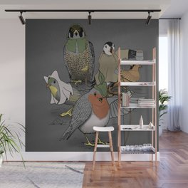 Robin and his merry friends. Wall Mural