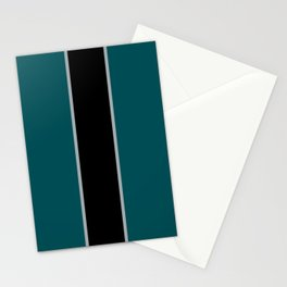 Midnight Green Stationery Cards
