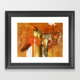 The End Of Darkness Framed Art Print