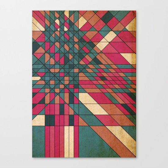 kriskras Canvas Print