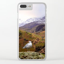 Mount Snowdon, Wales. Clear iPhone Case