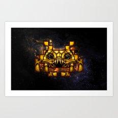 Invaders IRL Art Print