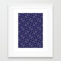 geo Framed Art Prints featuring GEO by Audule