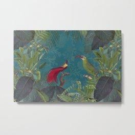 Birds Of Jungle Metal Print