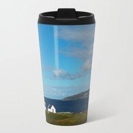 A beach house in Donegal Travel Mug