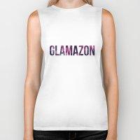 rupaul Biker Tanks featuring GLAMAZON by GLAMAZON