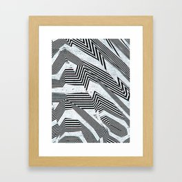 Like Another Jungle Out There Framed Art Print