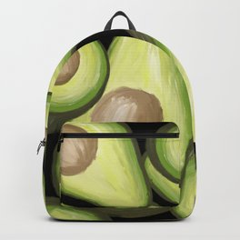 superfood avocados painting Backpack