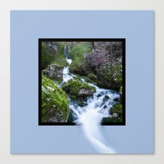 Waterfall Susec with 3D pop out of frame effect Canvas Print