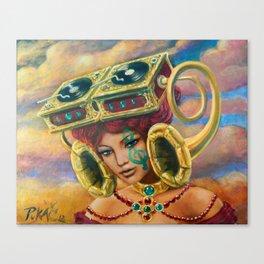 Ramophone Canvas Print