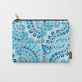 Inverted Ocean Mandalas Carry-All Pouch