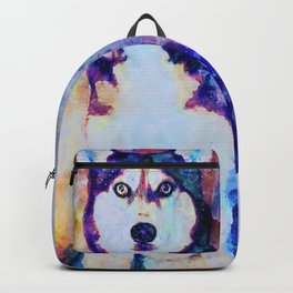 Tika'ani our Siberian Husky Backpack