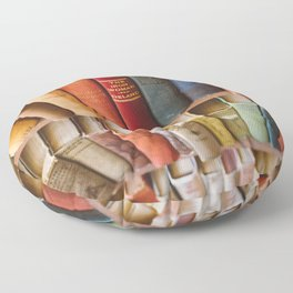 The Colorful Library Floor Pillow