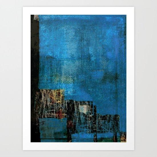 Palafitas Art Print