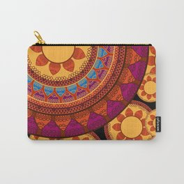 Ethnic Indian Mandala Carry-All Pouch