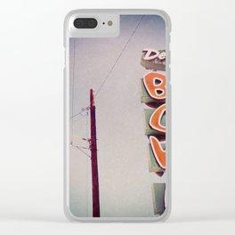 Del Rosa Bowl - San Bernardino, CA Clear iPhone Case
