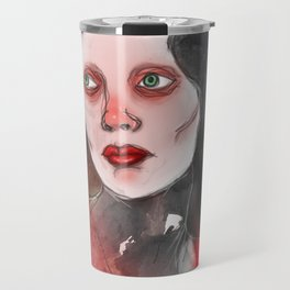 A Touch of Red (study) Travel Mug