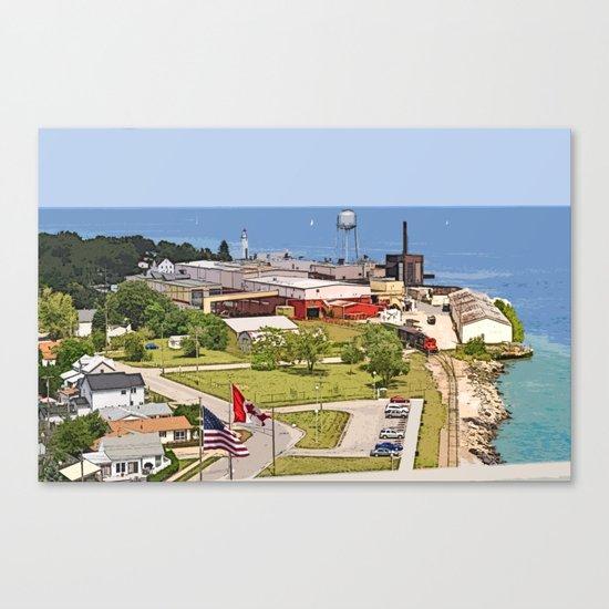 Port Huron Canvas Print