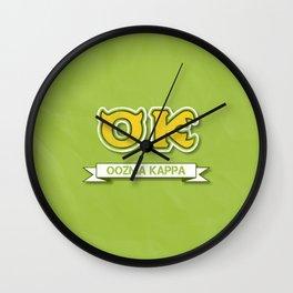 oozma kappa... monsters university Wall Clock