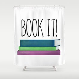 Book It! Shower Curtain
