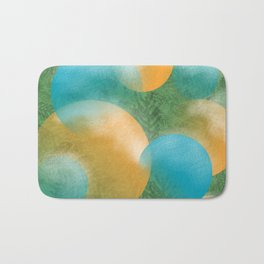 frosted ornaments Bath Mat