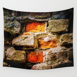 Bricks And Mortar Wall Tapestry