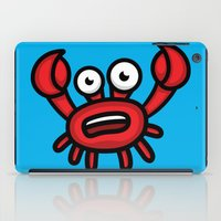 luigi iPad Cases featuring Crab Luigi by leondesigns