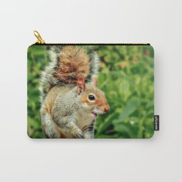 Cheeky Grey Carry-All Pouch