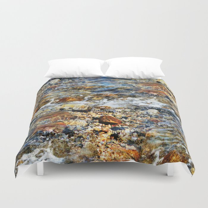 Peaceful Soothing Waters Duvet Cover