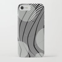 mid century iPhone & iPod Cases featuring Mid-Century Mod by Patti Toth McCormick