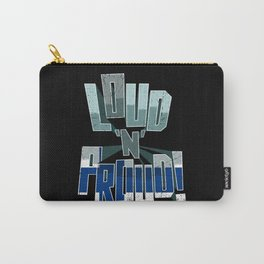 Finland Pride Loud N Proud Carry-All Pouch