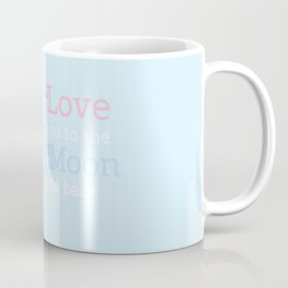 Moon Heart Coffee Mug