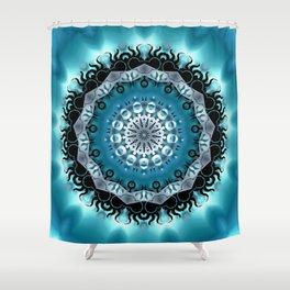 Mandala Blue 5 Shower Curtain