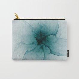 Dark Flower Fractal Carry-All Pouch