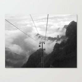 Mountains of China Canvas Print