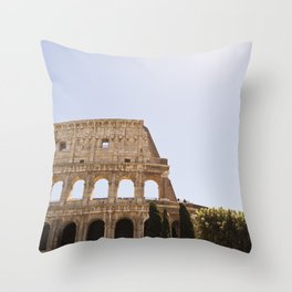 When In Rome II Throw Pillow