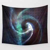 under the sea Wall Tapestries featuring Under Sea by Nicki Hart