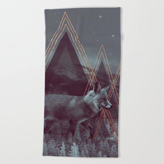 In Wildness | Fox Beach Towel