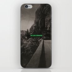 Get Lost Somewhere iPhone & iPod Skin