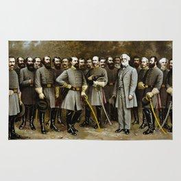 Robert E. Lee and His Generals Rug