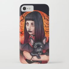 The Vamp and her BatPig iPhone 7 Slim Case