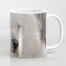 White Puppy Coffee Mug