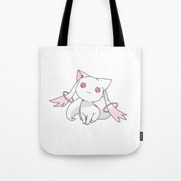 Kyubey Cat Tote Bag