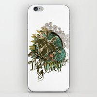 voyage iPhone & iPod Skins featuring VOYAGE by TOO MANY GRAPHIX