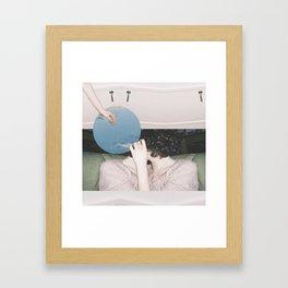 The Short Way's Short But The Long Way's Pretty Framed Art Print