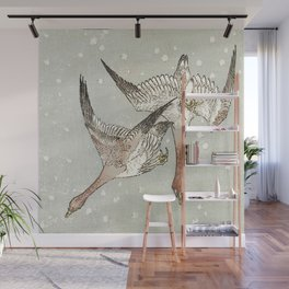 Snow Geese Wall Mural