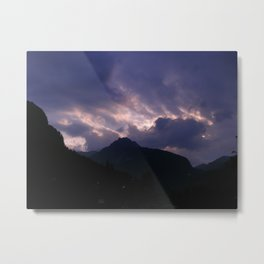 After Rain and Before Dusk Metal Print