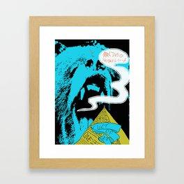 bear Framed Art Print